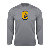 Syntrel Performance Steel Longsleeve Shirt-Capital C Griffs