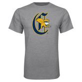 Grey T Shirt-Old English C Griffs