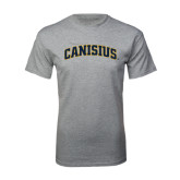 Grey T Shirt-Arched Canisius