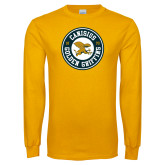 Gold Long Sleeve T Shirt-Canisius Golden Griffins 1870