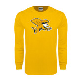 Gold Long Sleeve T Shirt-Griffin
