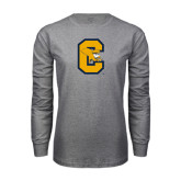 Grey Long Sleeve T Shirt-Capital C Griffs