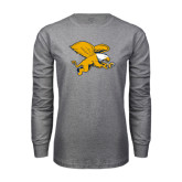Grey Long Sleeve T Shirt-Griffin