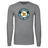 Grey Long Sleeve T Shirt-Canisius Golden Griffins 1870