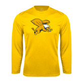 Syntrel Performance Gold Longsleeve Shirt-Griffin