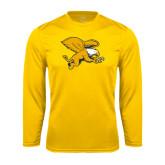 Performance Gold Longsleeve Shirt-Griffin