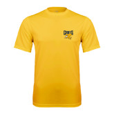 Performance Gold Tee-Griffs w/ Griff Stacked