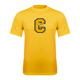 Performance Gold Tee-Capital C Griffs