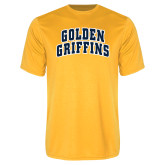 Performance Gold Tee-Arched Golden Griffins