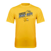 Syntrel Performance Gold Tee-Runnin Griffs Basketball Design