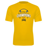 Syntrel Performance Gold Tee-2017 MAAC Champions Baseball