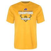 Performance Gold Tee-2018 MAAC Baseball Champions