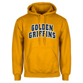 Gold Fleece Hoodie-Arched Golden Griffins
