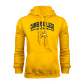 Gold Fleece Hoodie-Arched Canisius College Hockey
