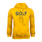 Gold Fleece Hoodie-Golf Design