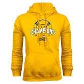 Gold Fleece Hoodie-2017 MAAC Champions Baseball