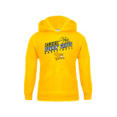 Youth Gold Fleece Hoodie-Runnin Griffs Basketball Design