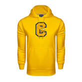 Under Armour Gold Performance Sweats Team Hoodie-Capital C Griffs