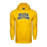 Under Armour Gold Performance Sweats Team Hoodie-Arched Golden Griffins