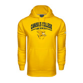 Under Armour Gold Performance Sweats Team Hoodie-Arched Canisius College Hockey