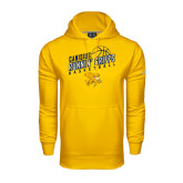 Under Armour Gold Performance Sweats Team Hoodie-Runnin Griffs Basketball Design