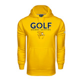 Under Armour Gold Performance Sweats Team Hoodie-Golf Design