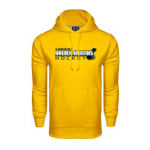 Under Armour Gold Performance Sweats Team Hoodie-Hockey Stick Design