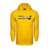 Under Armour Gold Performance Sweats Team Hoodie-Hockey Stick Design