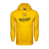 Under Armour Gold Performance Sweats Team Hoodie-Can You Dig It - Volleyball