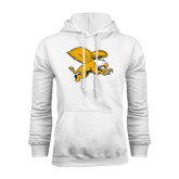 White Fleece Hoodie-Griffin