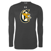 Under Armour Carbon Heather Long Sleeve Tech Tee-Old English C Griffs