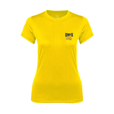 Ladies Syntrel Performance Gold Tee-
