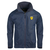 College Navy Charger Jacket-Sesqui Crest