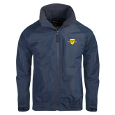 College Navy Charger Jacket-Sesqui Crest Dates