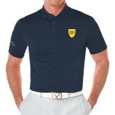 College Callaway Opti Vent Navy Polo-Sesqui Crest