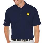 College Callaway Opti Dri Navy Chev Polo-Sesqui Crest
