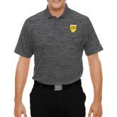College Under Armour Graphite Performance Polo-Sesqui Crest