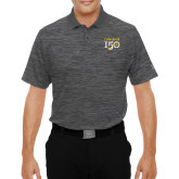 College Under Armour Graphite Performance Polo-Sesqui Text