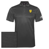 College Adidas Climalite Charcoal Grind Polo-Sesqui Crest