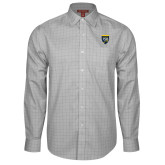 College Red House Grey Plaid Long Sleeve Shirt-Sesqui Crest
