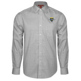 College Red House Grey Plaid Long Sleeve Shirt-Sesqui Crest Dates