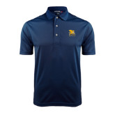 Navy Dry Mesh Polo-Canisius w/ Griff Stacked