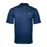 Navy Mini Stripe Polo-Griffs Wordmark