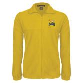 Fleece Full Zip Gold Jacket-Canisius w/ Griff Stacked