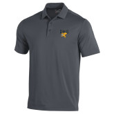 Under Armour Graphite Performance Polo-Griffs w/ Griff Stacked