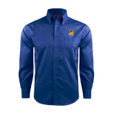 Red House French Blue Long Sleeve Shirt-Griffs w/ Griff Stacked