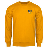Gold Fleece Crew-Griffs w/ Griff Stacked