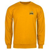Gold Fleece Crew-Canisius w/ Griff Stacked