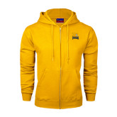 Champion Gold Fleece Full Zip Hood-Canisius w/ Griff Stacked