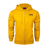 Champion Gold Fleece Full Zip Hood-Griffs Wordmark